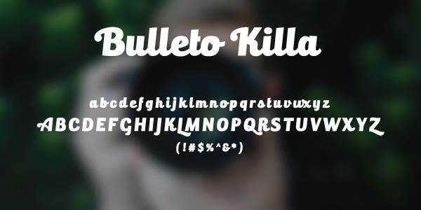 Bulleto Killa Free Font