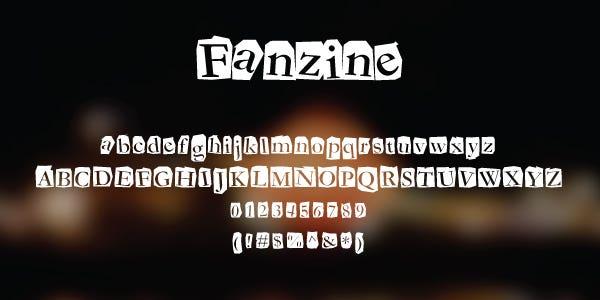 Fanzine Free Font