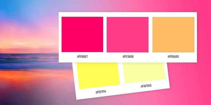 Always Sunset Color Palette