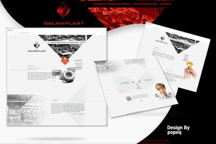 Best business homepage design for Galwaplast