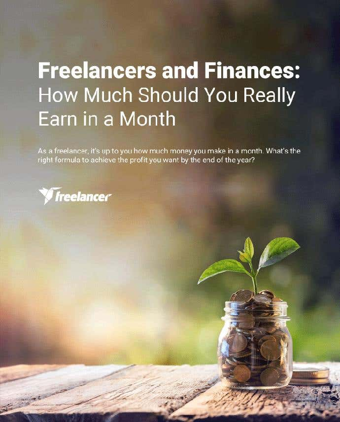 Freelancers and Finances: How Much Should You Really Earn in a Month - Image 1