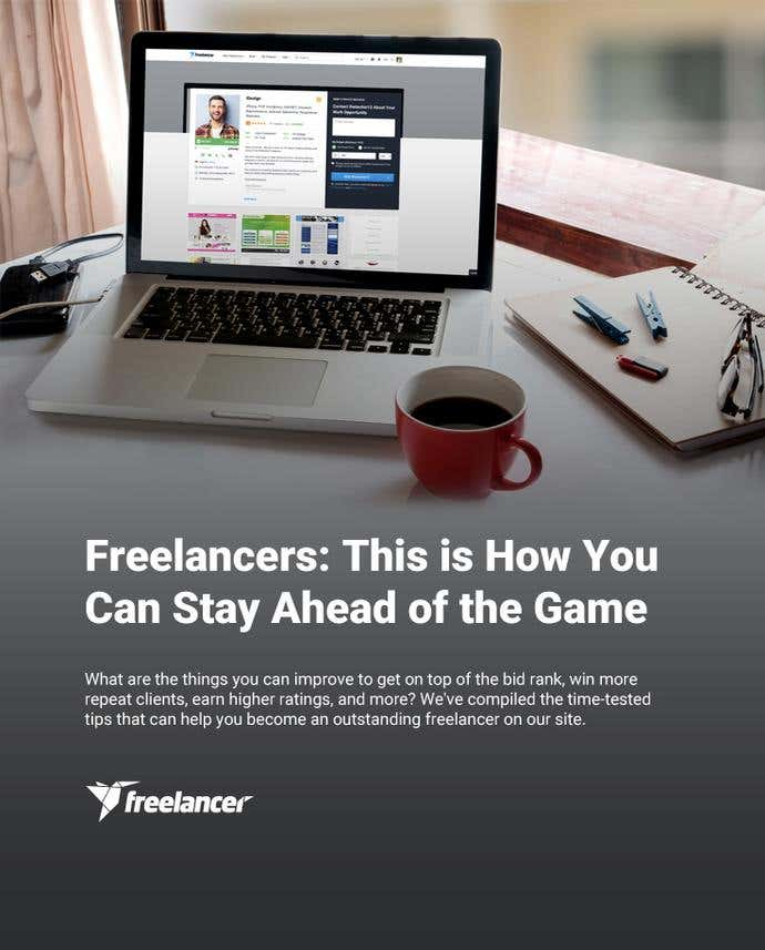 Freelancers: This is How You Can Stay Ahead of the Game - Image 1