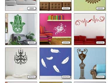 Collecting near 500 images into wallpaper catalog, layout, design, prepress and PDF.