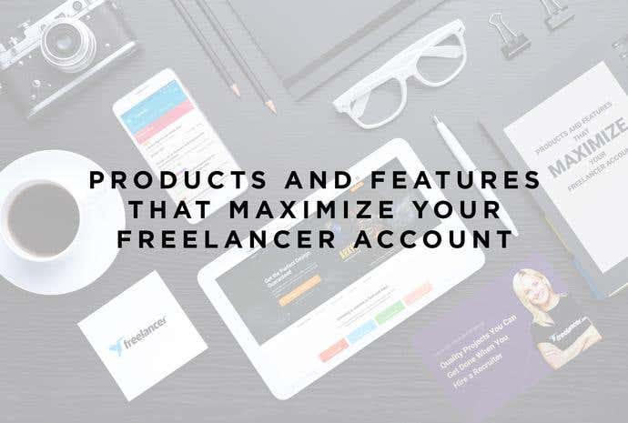 freelancer products and features