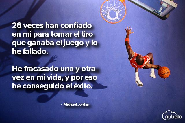 Michael Jordan Frases Éxito