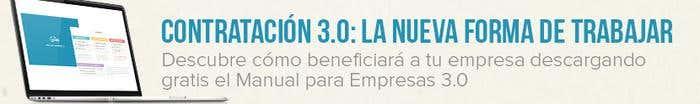 Contratación 3.0 La nueva forma de trabajar banner