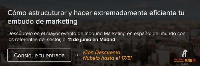 Banner InboundMkt Madrid