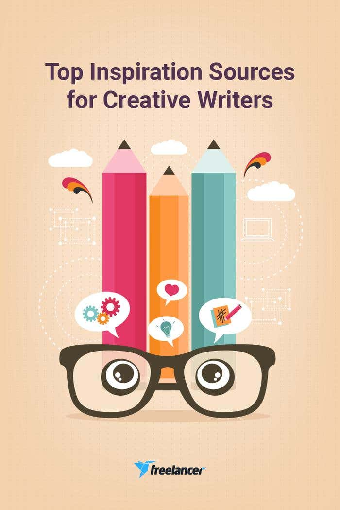 Top Inspiration Sources for Creative Writers | Freelancer Blog