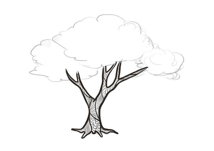 how to draw doodle art tree freelancer blog