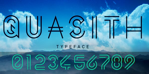 Quasith best number font