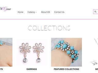 We design and setup this awesome beauty shopify store (jewelryngear.com)