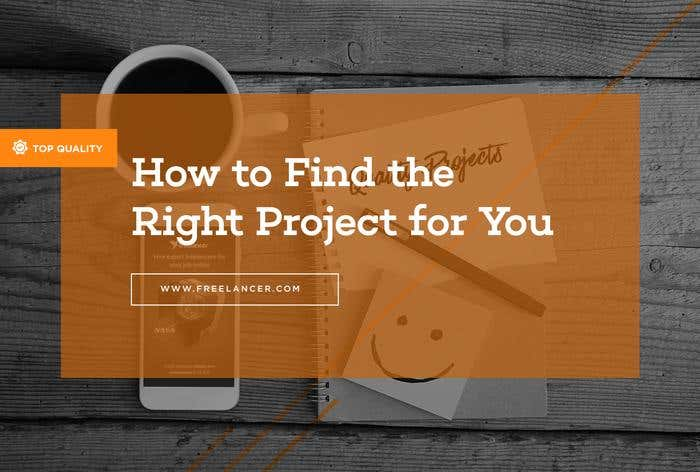 find the right freelance project