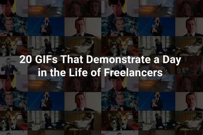 20 GIFs That Demonstrate a Day in the Life of Freelancers - Image 1