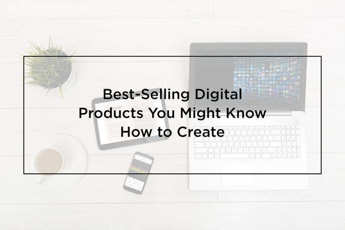 best-selling digital products