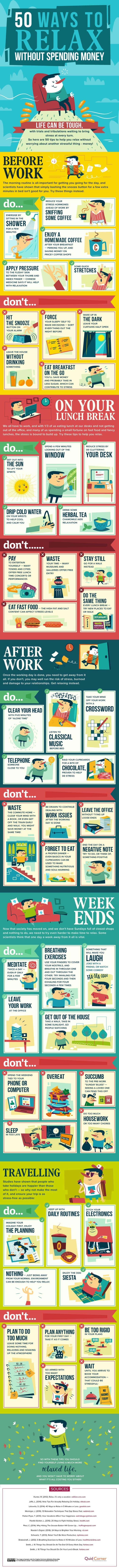 health tips freelancers - relaxing