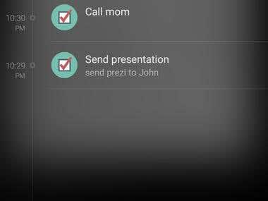 Simple & powerful To do list app