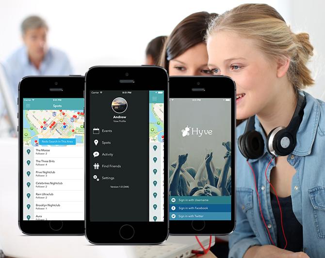 Hyve iOS Music App