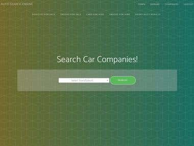 A simple portal to search for cars, vehicles, trucks for sale and rent for a give town, suburb.