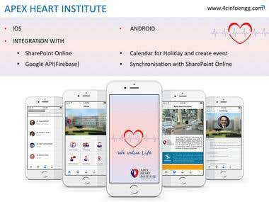 Apex healthcare app is designed to help the patient to schedule their appointment, book ambulance in case of any emergency within no time. through this app, the users can access the medical resources they know and trust at the point of care. It provide fast and accurate clinical answers and it is leading medical application for patient and doctors.