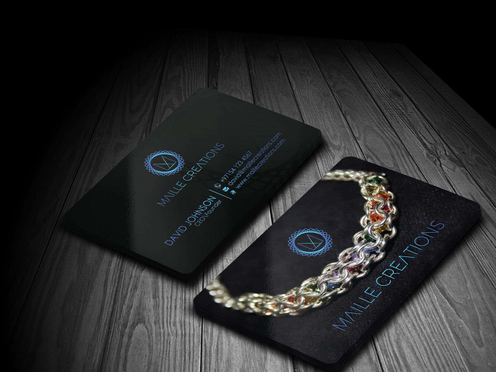 Design A Business Card For A Hobby Jewelry Business ...