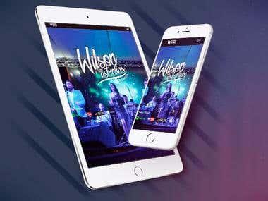 Diseño web mediante plataforma Wordpress para la empresa Wilson y sus Estrellas del Sur occidente Colombiano.  http://www.wilsonysusestrellas.com/