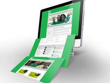 Website developed for World of Money organization.
