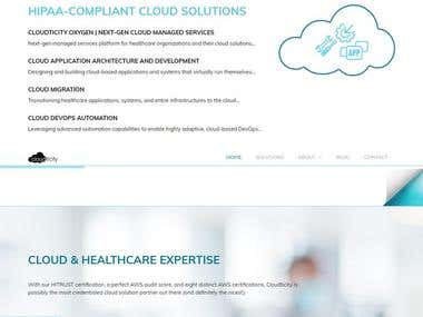 Cloudticity helps healthcare organizations leverage ground breaking automation and cloud expertise to design, build and manage HIPAA-compliant solutions on the public cloud.
