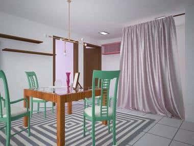 We have done a nice house arrangement for the Indian Client as per his requirements for his whole house room by room. Home Design, Interior Design and 3ds Max arrangements.