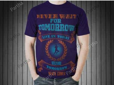 Hello,  I will Design T-shirts for you.  I have more than 4+ years work experience and professional skills.  My gig includes:  1: Source file, PNG, JPG 2: High resolution ; 3: Short time delivery.  You are in the right place Enjoy work with me.