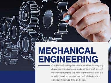 Our mechanical engineers have expertise in analyzing, designing, manufacturing, and maintaining all sorts of mechanical systems. We help clients from all over the world to develop complex mechanical designs and significantly reduce  time-and costs.