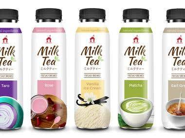 Bottle Label & Logo design