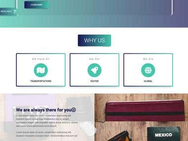 I have design and develop this full responsive  travelers help website with word-press.