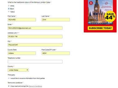 I have about 2 years experience of Online form fill up project. I can do it without any kinds of difficultes.