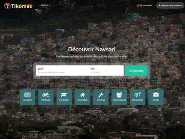 Online Classified Website Design