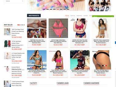 Custom requirements, drop shipping from Ali express, Amazon, Oberlo, Ebay.