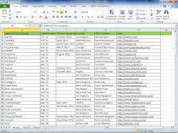 Data entry, excel, pdf, word etc