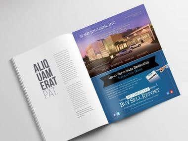 Magazine / Newspaper & Web Ads