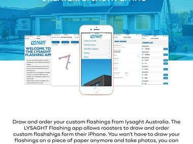 Lysaght products have helped shape from iconic corrugated roofs to large commercial and industrial projects. The diverse product range includes roofing and walling, gutters and downpipes, purlins, fences, structural formwork and home improvement products. The apps are available on both iOS and Android platform at store.