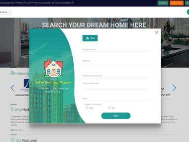 Real Estate platform where people can buy/rent their houses.