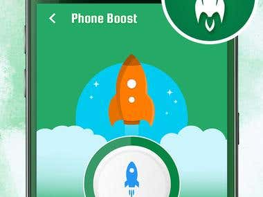Clean master is the best app cleaner to free up space and for cleaning the junk files from mobile's memory for fast and smooth working. This app is not just for cleaning junk files but also for Ram Booster to boost up speed by freeing up ram after optimization.We have spatially worked to secure the personal data from visiting guests by providing App Locker in this application. With this application you can lock all those applications which contain your personal data like pictures, document files personal videos, messages and calls etc.  FEATURES,  Ram Booster, is included in this application to boost up the speed of mobile by closing extra opened applications which are working in background and using ram.  Application Cleaner, is also included in this application to free up space and for cleaning the junk files which use space and also make the mobile slow. It cleans the junk files and make the functioning of mobile faster and smoother.  App Locker, is also included in this application