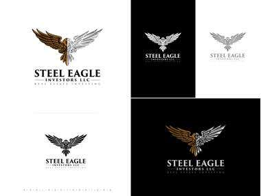 Steel Eagle logo design done by me