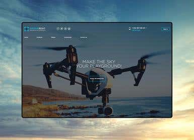 Web Design | Drone Rental Company
