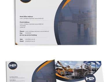 HP Brouchers Designs