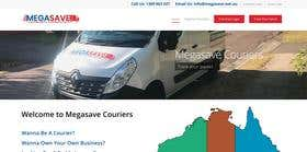 Website for Megasave Courier Company