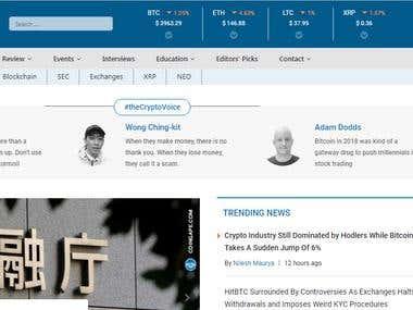 wordpress news website