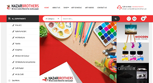 I have developed the Ecommerce website on WordPress for Pakistan based Company. Our Client needs best and Professional Ecommerce Portal to grow its Stationery business across Pakistan.