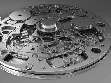 Watch Mechanic Modeling