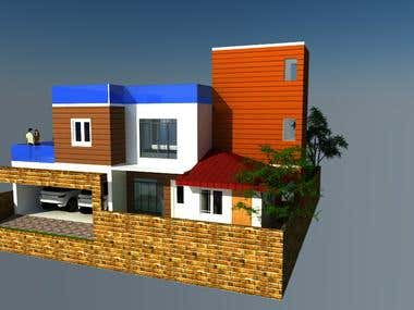 This consist some autocad drawings and renderings done by us.