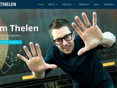 Link to Tom Thelen site: https://tomthelen.com/