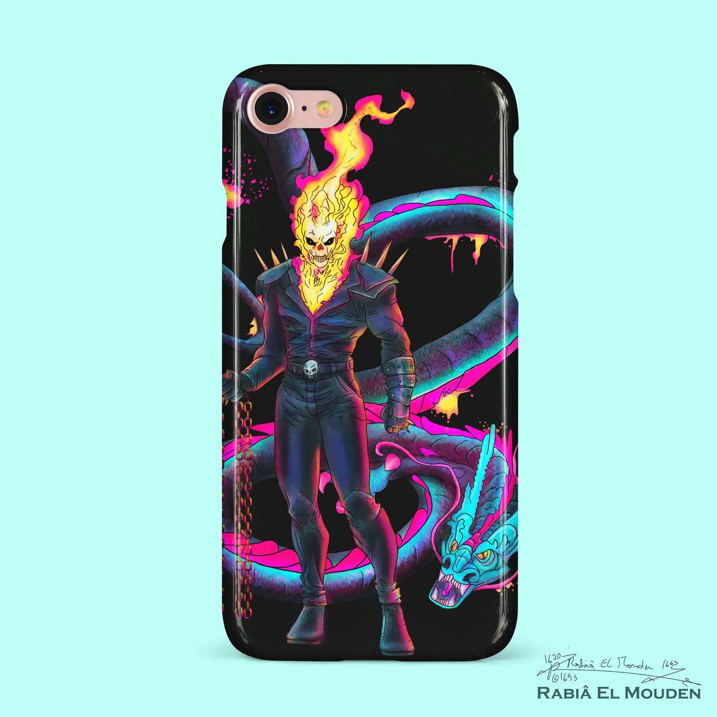 Ghost Rider Phone Case.jpg
